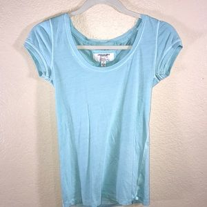 American Eagle Favorite T size small light blue